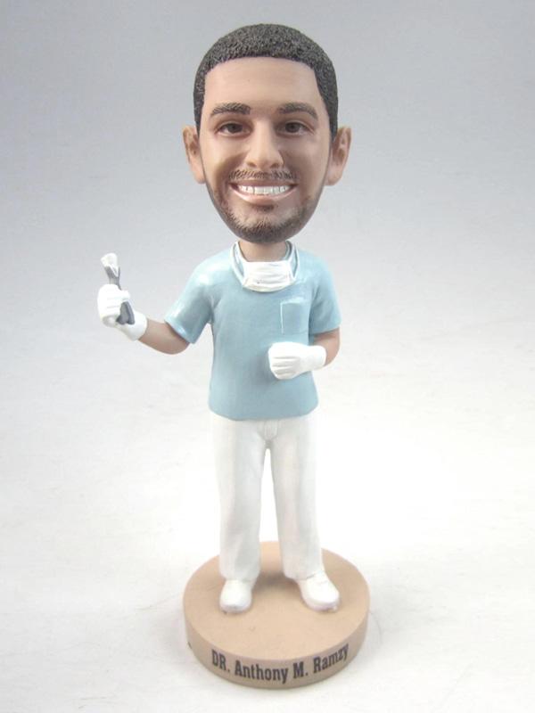 Male Dentist Bobblehead 2925 Custom Bobbleheads Amp Group